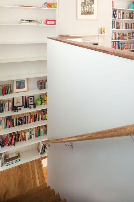Brüstung mit Holz-Abdeckung, GKMP Architects