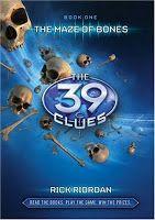 Las 39 pistas. El laberinto de huesos de Rick Riordan