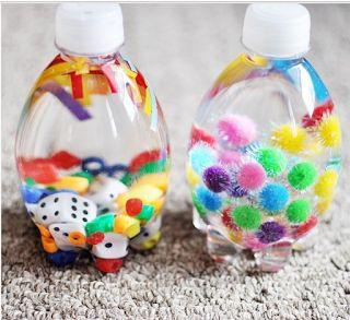 👶 Wonder-WOW-Mam 🍼: Bottigliette sonore realizzate con materiale di s...
