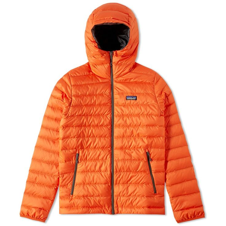 Patagonia Down Sweater Hoody Cusco Orange