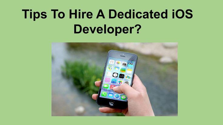 How to hire a dedicated ios developer