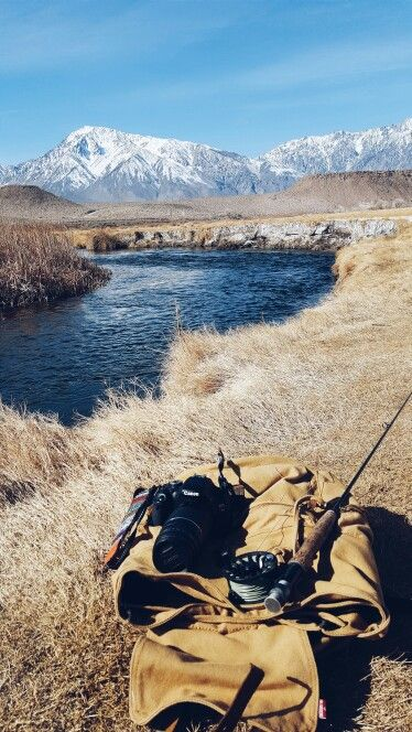 Owens river. Fly fishing and photographs