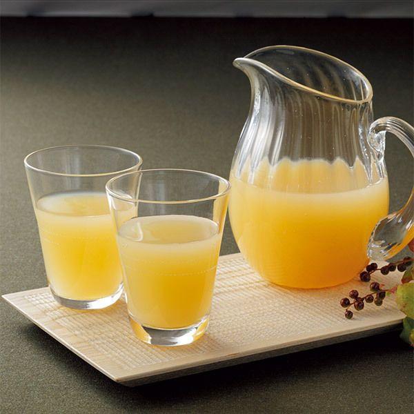 3種の岩手県産完熟りんごの甘みと酸味をそのままに。【高島屋限定】りんごジュース・丸ごと果汁