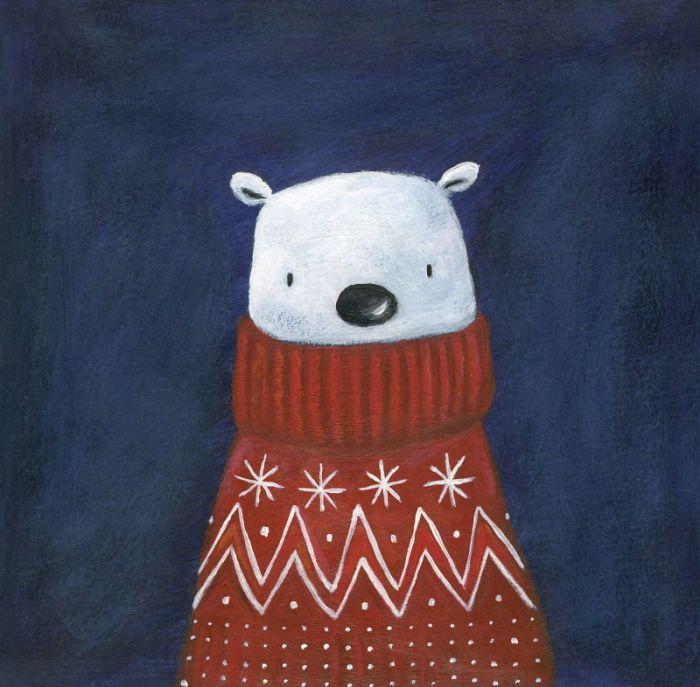 Christmas Polar Bear Jumper
