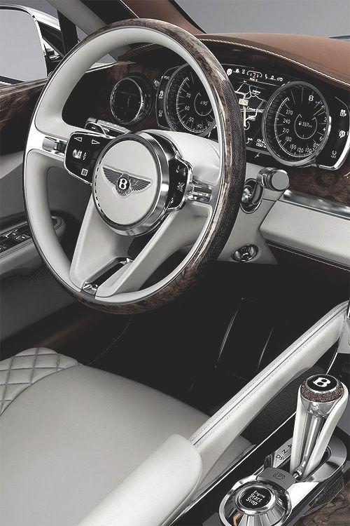 """nxstyle: """"Bentley SUV Interior Via """""""