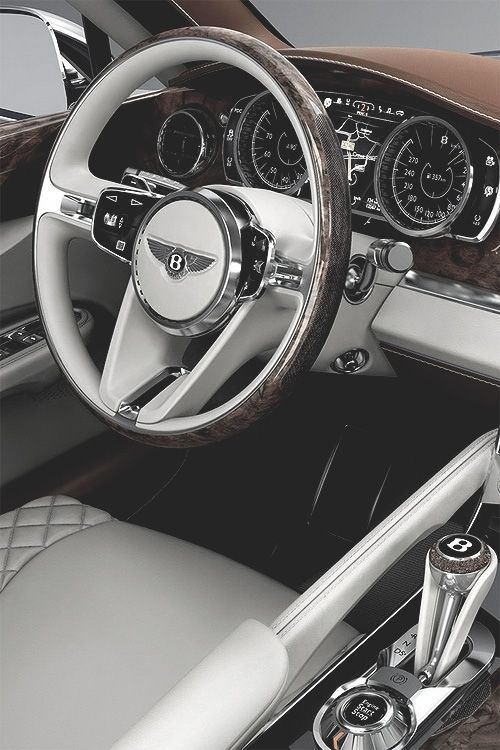 "nxstyle: ""Bentley SUV Interior Via """