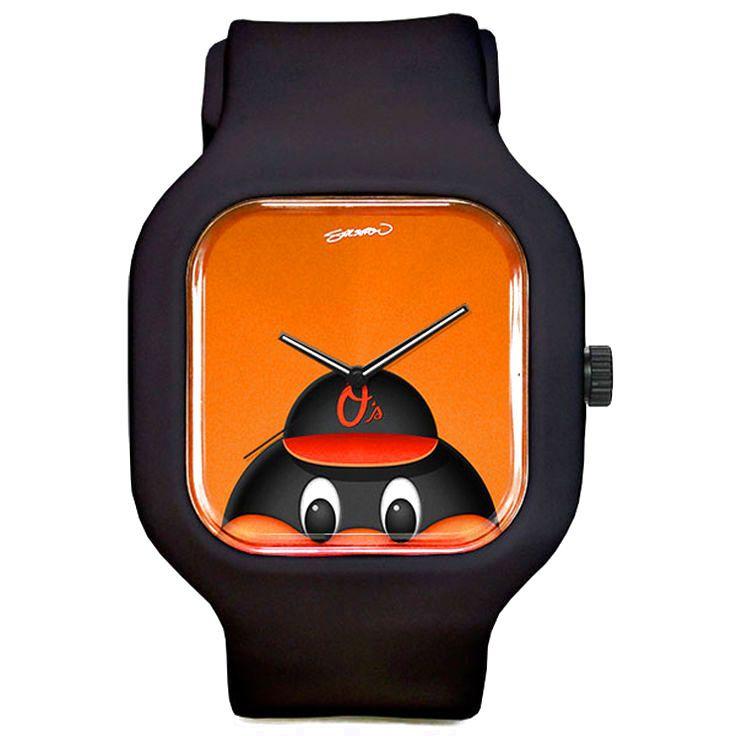 Baltimore Orioles The Oriole Bird Minimalist Sport Watch - Black - $39.99