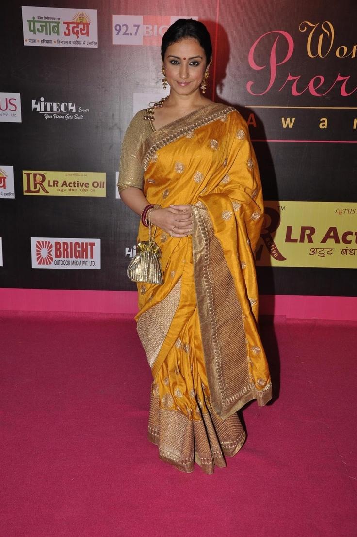 Divya Dutta at Women's Prerna Awards 2013.