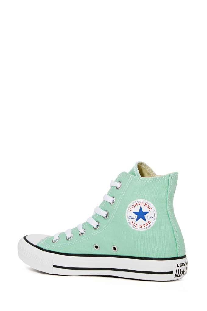 Converse All Star High-Top Sneaker - Mint