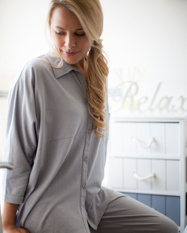 Isabel Cotton Modal Knitted Pyjamas