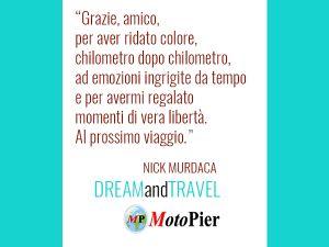 NICK MURDACA DA MOTOPIER DREAM AND TRAVEL