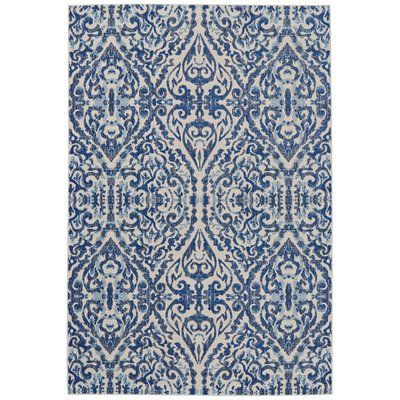 Sheree Rug in Light Blue & Gray & Reviews | Joss & Main