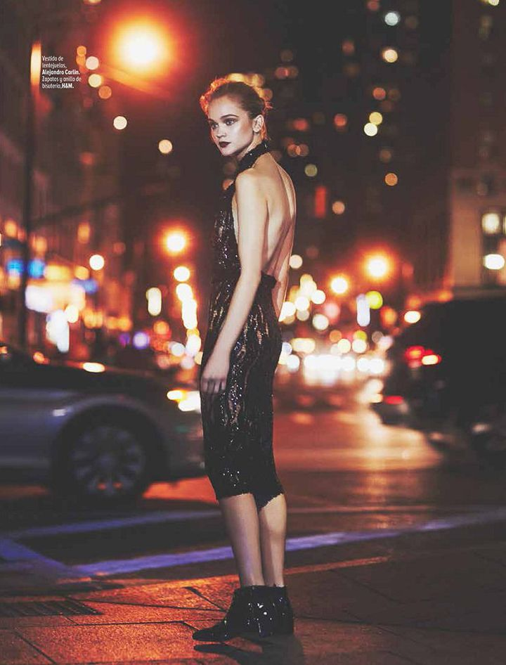 Marie Claire Mexico December 2015 - Rosie Tupper by Geoff Barrenger - Fashion Editorials