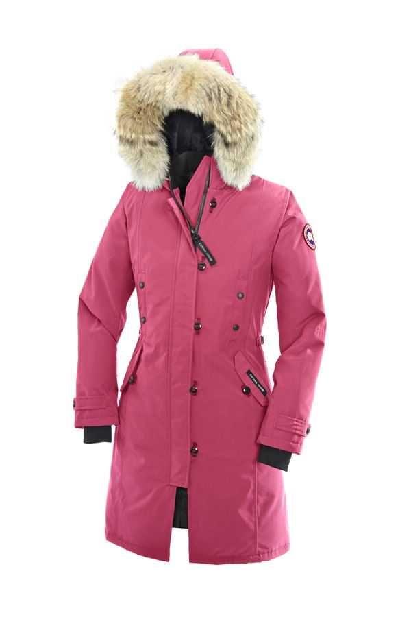 Canada Goose Kensington Parka Summit Pink For Women