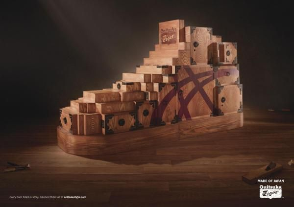 Onitsuka Tiger TANSU SHOE  Print Ad by Amsterdam Worldwide