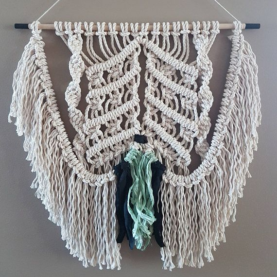 Check out this item in my Etsy shop https://www.etsy.com/ca/listing/539320925/tidal-macrame-wall-hanging