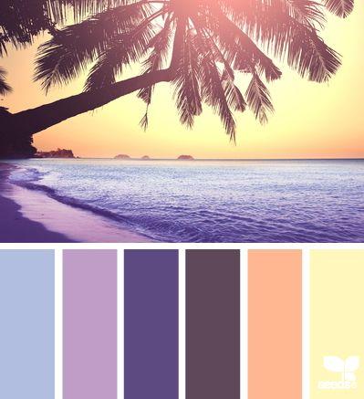 summer setting - Voor meer kleuren en inspiratie kijk ook eens op http://www.wonenonline.nl/interieur-inrichten/kleuren-trends-2014/