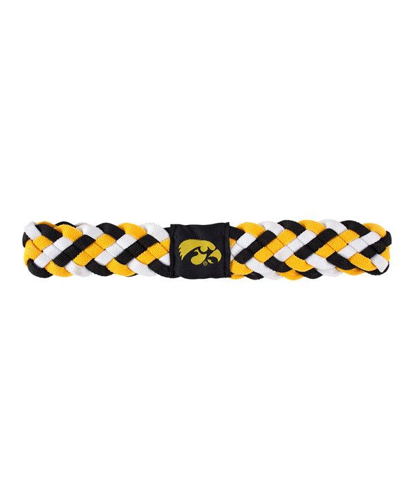 Look at this Iowa Hawkeyes Braided Headband - Women on #zulily today!
