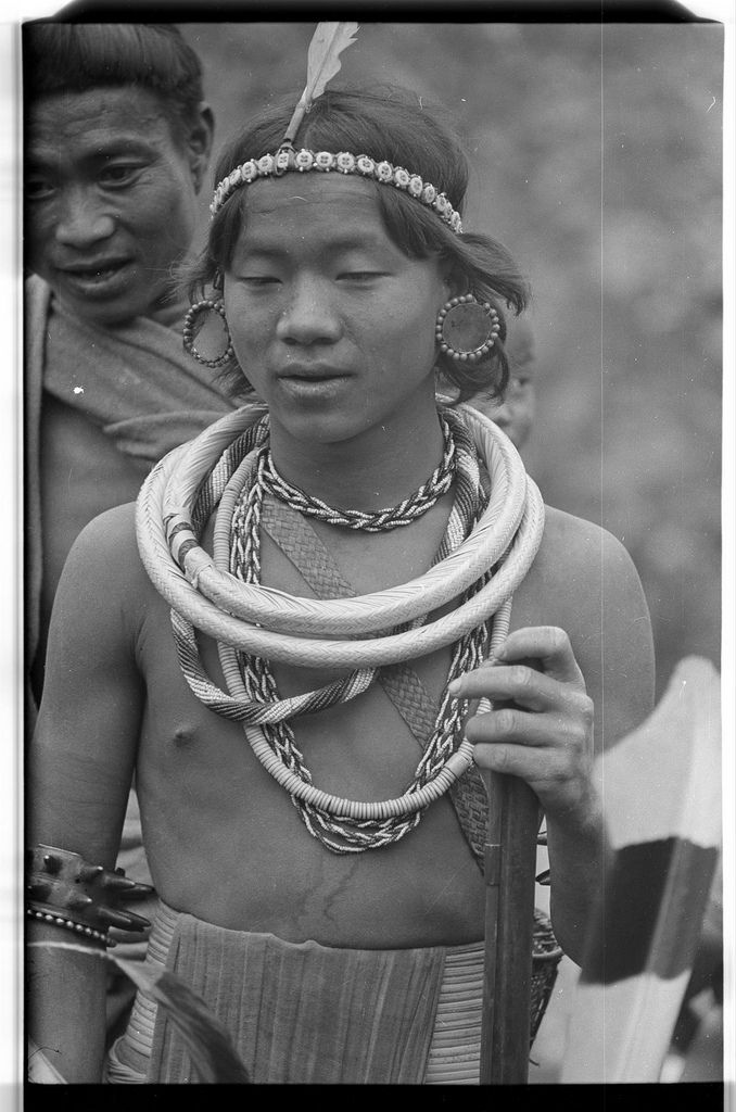 Portrait of a Wancho Naga man | par SOAS Digital Library