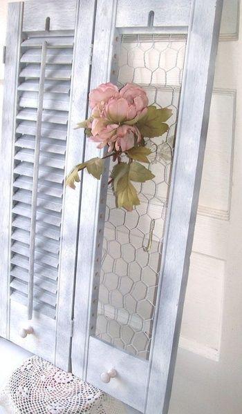 25 best Shutter Shelf ideas on Pinterest Repurposed shutters
