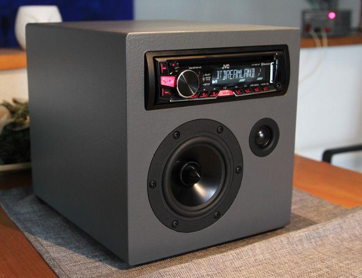 k chenradio oder f r reisen dayton speaker mit autoradio bt aux cd radio usb alles was man. Black Bedroom Furniture Sets. Home Design Ideas