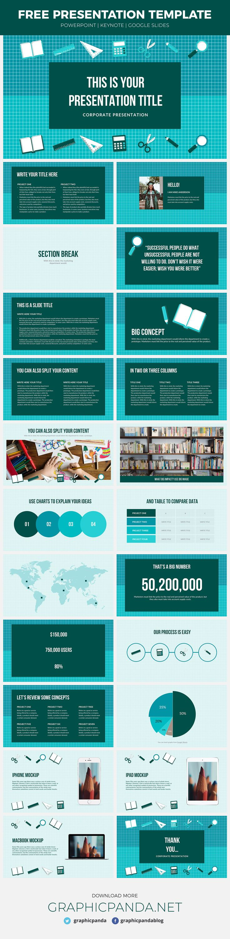 Loaded with color and infographics the Education