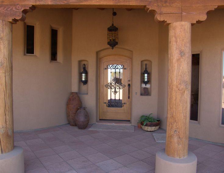 Interior & Exterior Doors - Classy Closets -  Like this rustic Southwest door.  http://classyclosets.com/