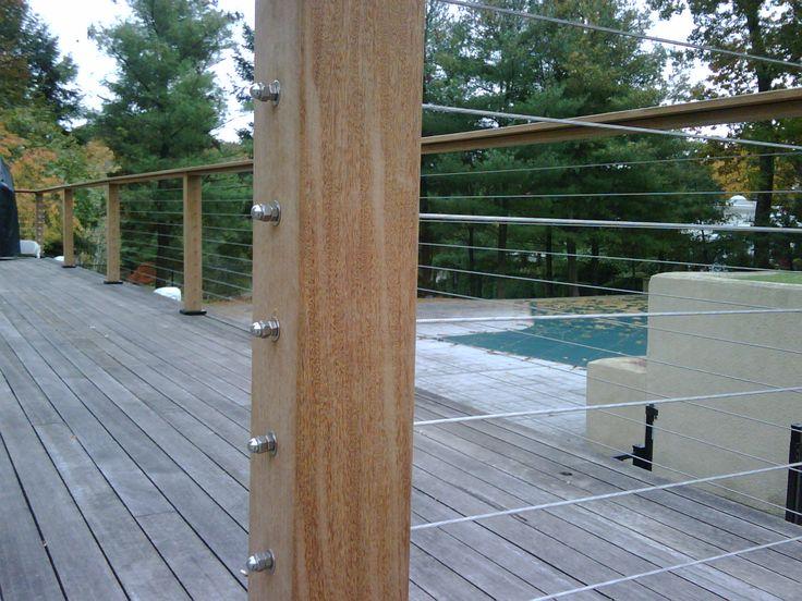 contemporary railings for decks and porches | and Porch Railings