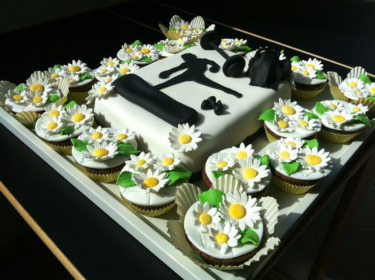 La torta per una insegnante di Fit box
