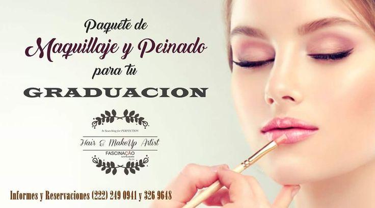 Se acerca la temporada de Graduaciones y en #Fascinacao queremos que luzcas radiante, pregunta por nuestro paquete de maquillaje y peinado para tu cena de gala, sesión fotográfica de generación y/o tu acto protocolario.  Reserva al (222) 249 0941 y 326 9648  #PELUQUERIADEAUTOR #peluquerosapasionados #peluqueriaurbana #fascinacaobylee #pueblacapital #mexico #mx #stylishman #hairstyle #estetica #salondebelleza #saladebelleza #amamoselestilo #look2017 #depilacion #depilacionfacial…