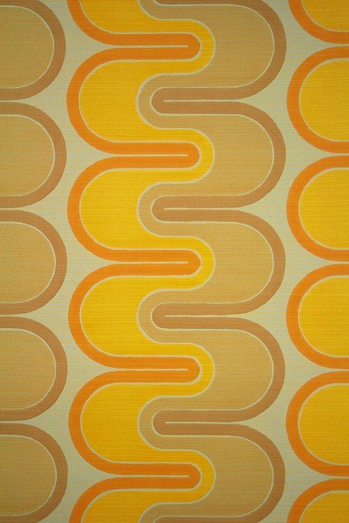 Verner Panton Retro Wallpaper