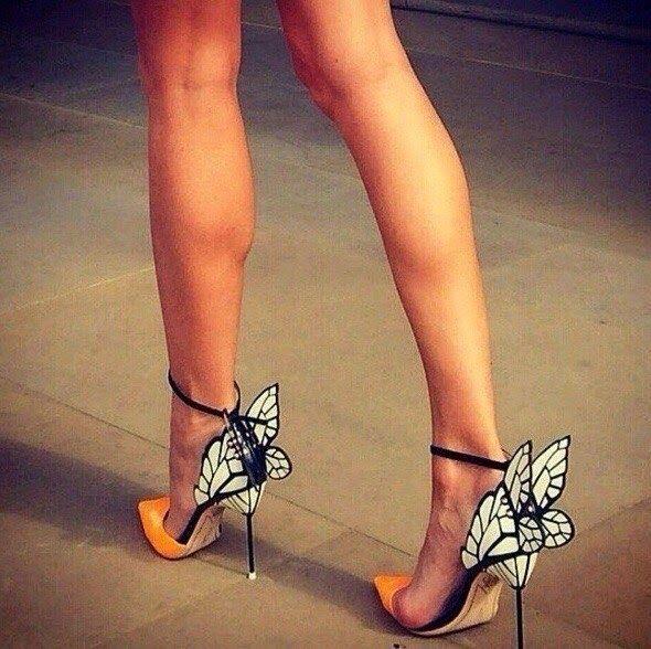 PJ - MG - FASHION : Butterfly heels