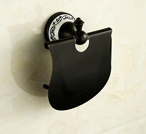 YULIN Americano completo soporte de rollo de papel higiénico porcelana toallero baño de cobre de bronce de imitación negro bandeja de dispositivo de hierba SHIJIA http://www.amazon.es/dp/B015MKREMO/ref=cm_sw_r_pi_dp_yqUcwb1PMVM01