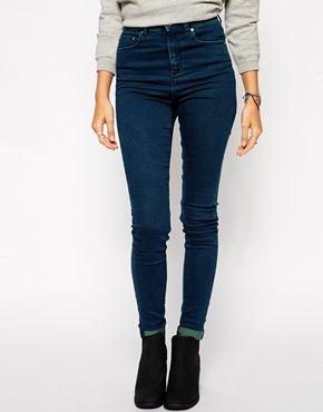 ASOS Ridley Skinny Jeans - Dark Tint
