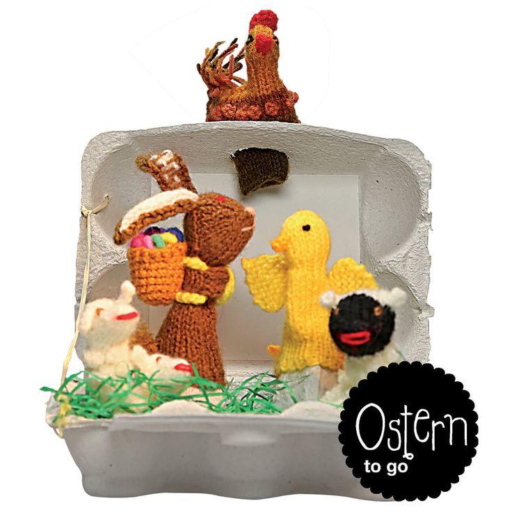 Ostern to go, Fingerpüppchen - edition.end