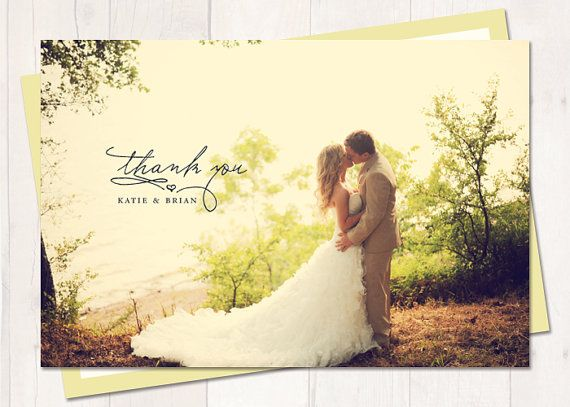 Wedding Thank You Postcard or Magnet  Sunshine by cardcandydotcom, $15.00