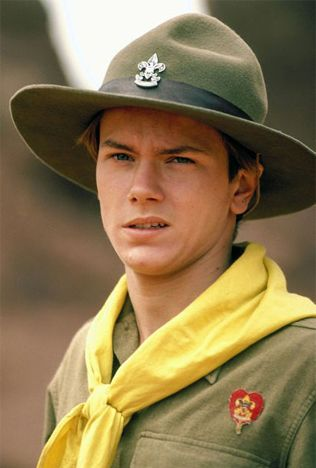Young Indiana Jones by River Phoenix