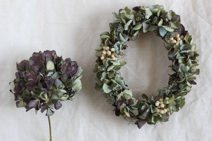 FLEURI (フルリ)| ドライフラワー dryflower リース wreath オーバルリース
