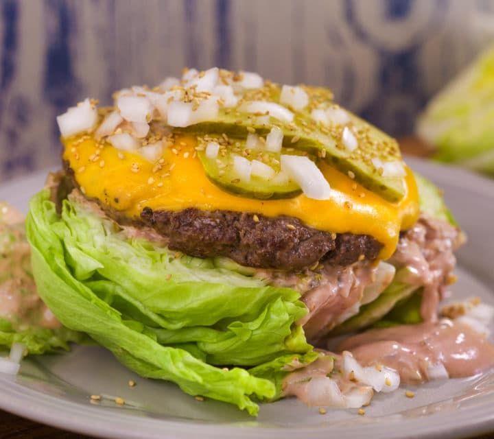 Big Smack Cheeseburger Salad