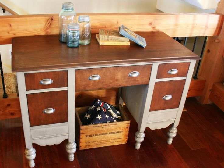 Painted Desks 44 best furniture painted desks, secretary images on pinterest