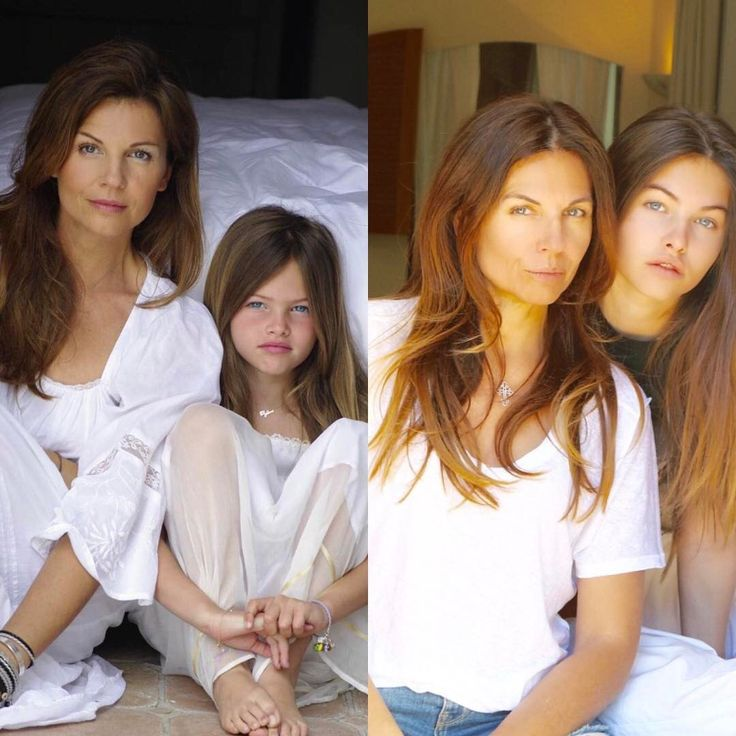 Viral Breaking News Stunning And Adorable Photos Of Maine: Thylane Blondeau And Her Mom