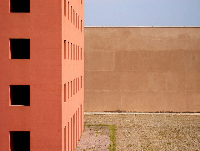 Aldo Rossi Modena Cimitero San Cataldo by barlongue, via Flickr
