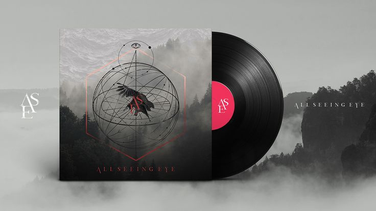 Album art | All Seeing Eye on Behance
