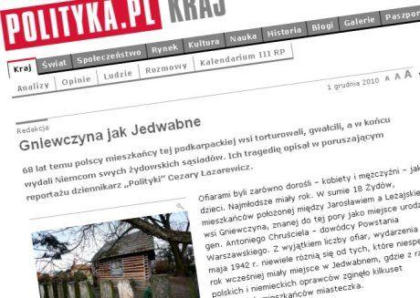 W Gniewczynie 68 lat temu Polacy torturowali, gwałcili, a w końcu wydali Żydów Niemcom
