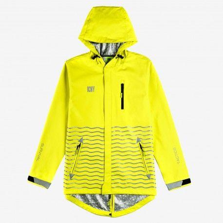 La veste Orbit est LA veste du commuter. Elle allie technique, mode et utilité. Imperméables et réfléchissants. L'intérieur reprend un matériau réfléchissant qui agit sur la régulation de la température, tout en évacuant l'humidité.