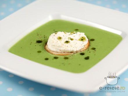 Supa crema de mazare. Imagini pas cu pas pentru supa crema de mazare