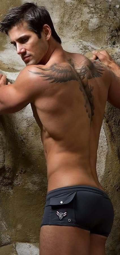 I've pinned him about a thousand times and intend to pin him a thousand more. Tell me his body isn't a work of art?