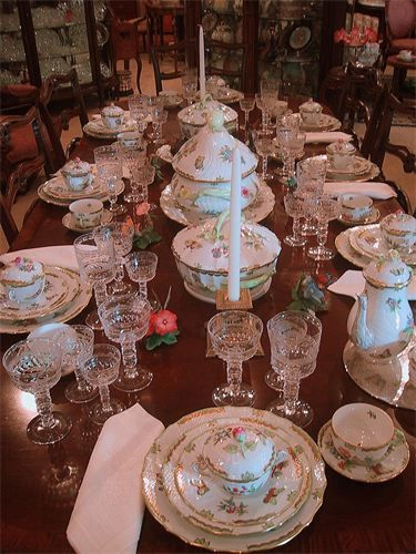 Fabulous Table Setting A Herend Feast For The Eyes The