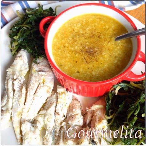 Gourmelita: John Dory Soup w Trachanas
