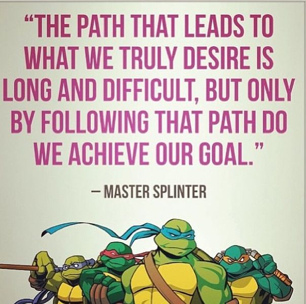 Ninja Turtle Quotes Best 12 Best Master Splinter Quotesawesome Images On Pinterest  Master